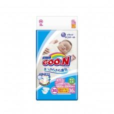 Подгузники GOO.N для маловесных новорожденных 1,8-3,5 кг (р. SSS, на липучках, унисекс, 36 шт)
