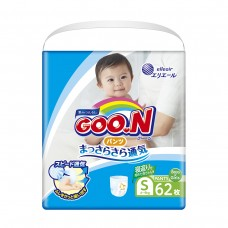Трусики-подгузники GOO.N для детей 6-12 кг (размер M, унисекс, 58 шт)